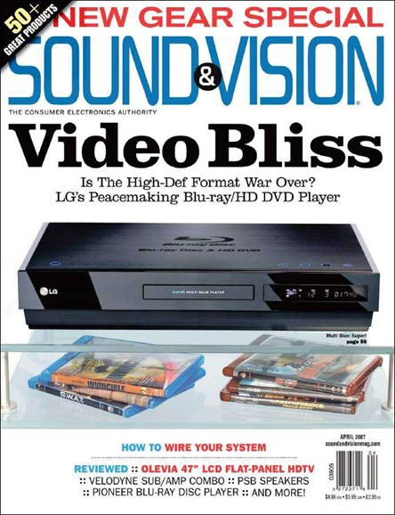 Sound & Vision Cover - 4/1/2007