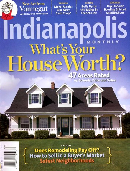Indianapolis Monthly Cover - 4/1/2007