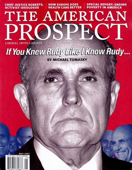 The American Prospect Cover - 5/1/2007
