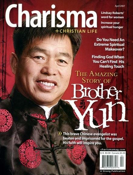 Charisma Cover - 4/1/2007