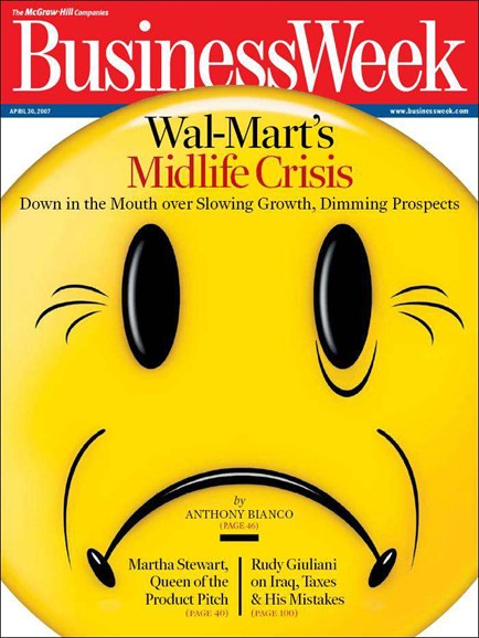 Bloomberg Businessweek Cover - 4/1/2007
