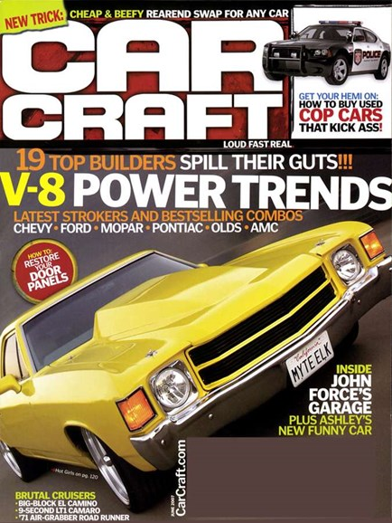 Car Craft Cover - 6/1/2007