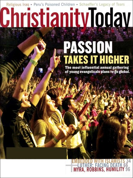 Christianity Today Cover - 4/1/2007