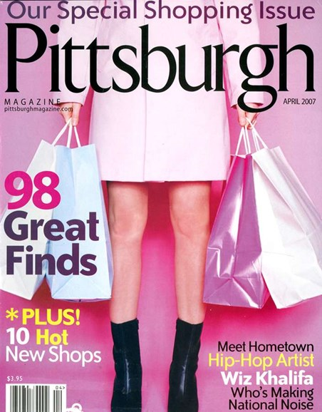 Pittsburgh Magazine Cover - 4/1/2007