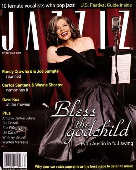 Jazziz Cover - 4/1/2007