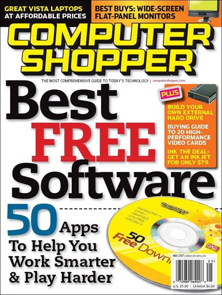 Computer Shopper Cover - 5/1/2007