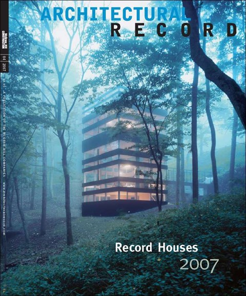 Architectural Record Cover - 5/1/2007