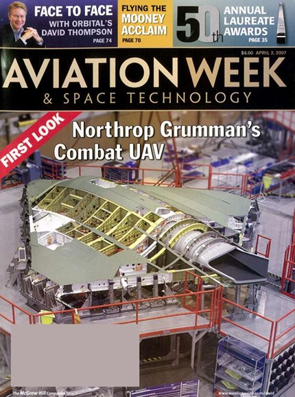 Aviation Week & Space Technology Cover - 4/1/2007
