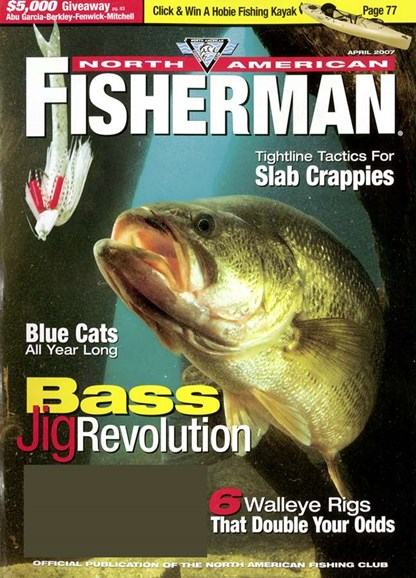 North American Fisherman Cover - 4/1/2007