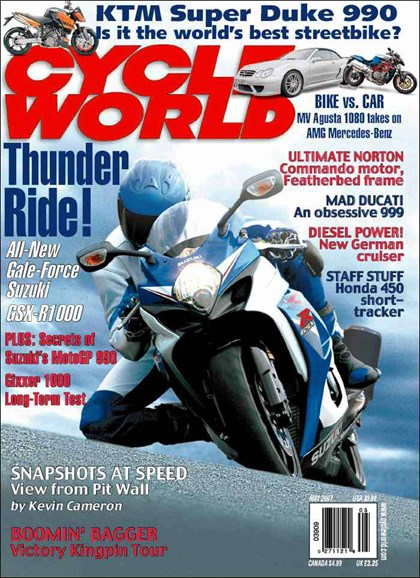Cycle World Cover - 5/1/2007