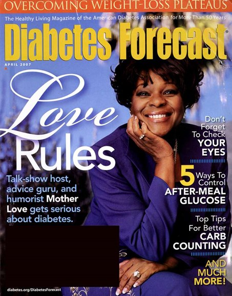 Diabetes Forecast Cover - 4/1/2007