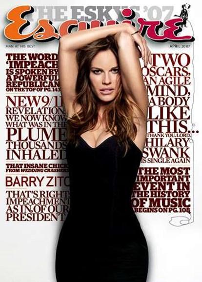 Esquire Cover - 4/1/2007