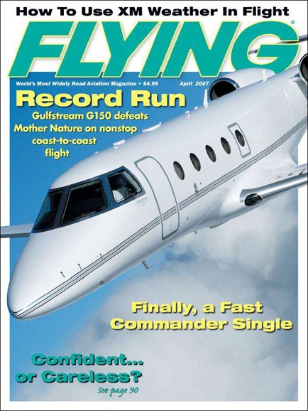 Flying Cover - 4/1/2007