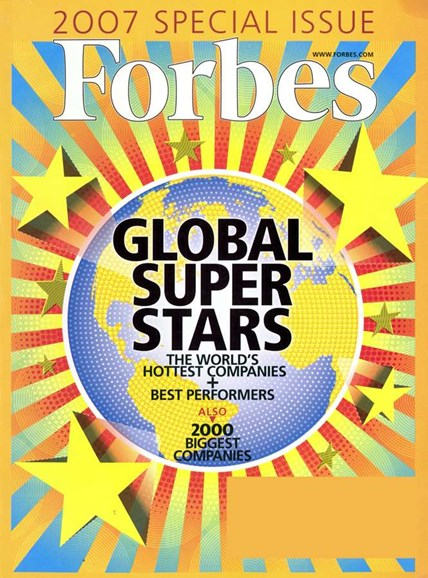 Forbes Cover - 4/1/2007