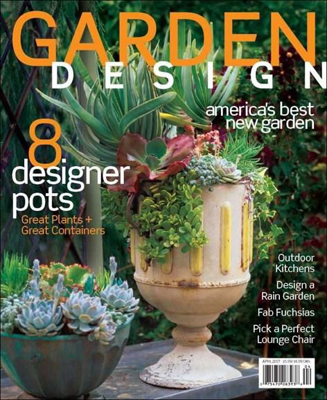 Garden Design Cover - 4/1/2007
