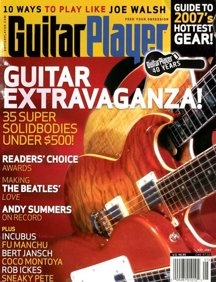 Guitar Player Cover - 5/1/2007