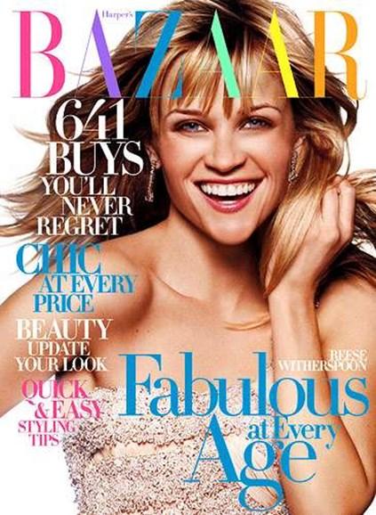 Harper's Bazaar Cover - 4/1/2007