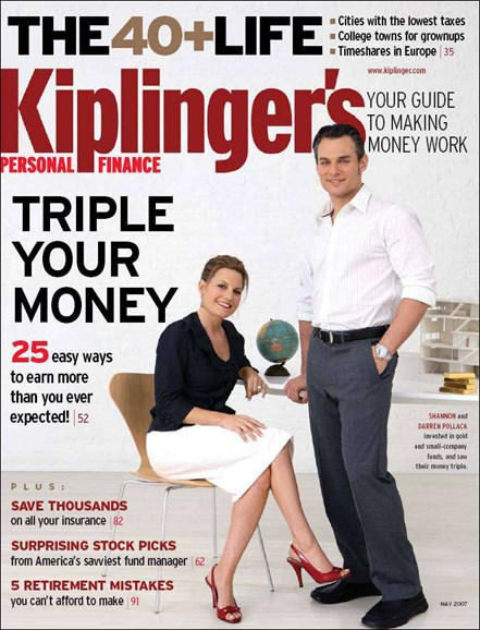 Kiplinger's Personal Finance Cover - 5/1/2007