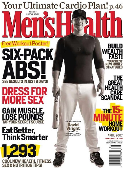Men's Health Cover - 4/1/2007