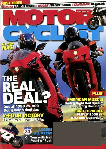 Motorcyclist Cover - 5/1/2007