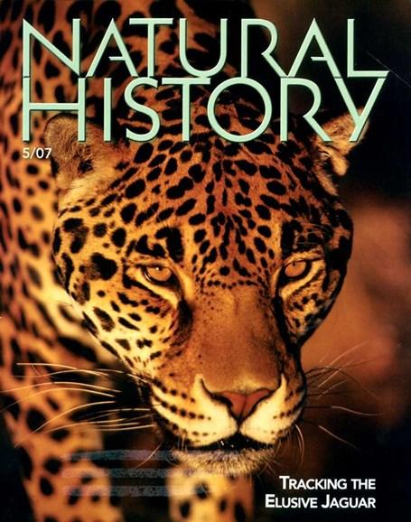Natural History Cover - 5/1/2007