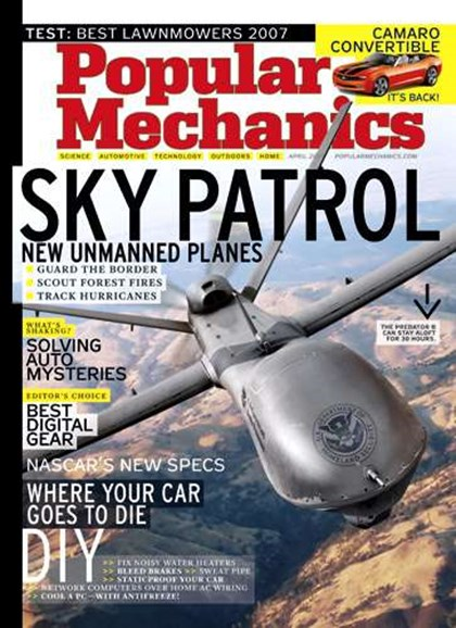 Popular Mechanics Cover - 4/1/2007