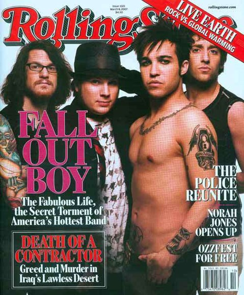 Rolling Stone Cover - 3/1/2007