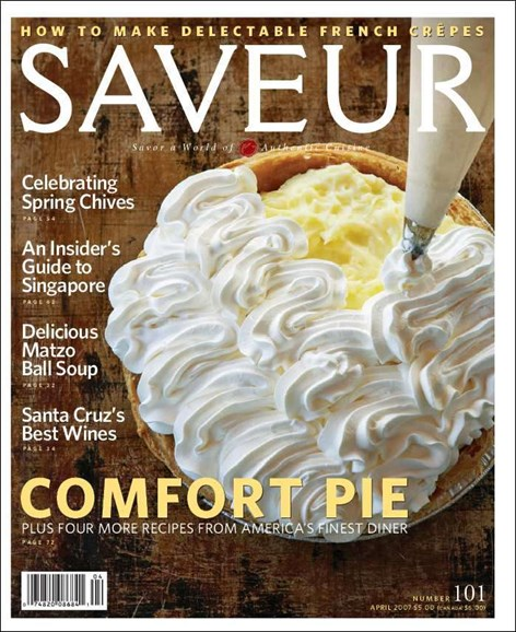 Saveur Cover - 4/1/2007