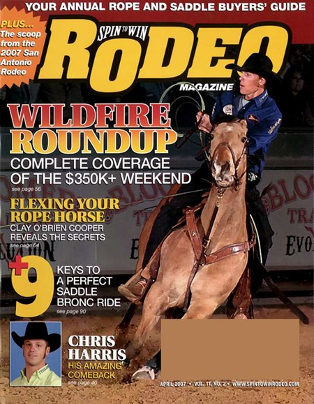 The Team Roping Journal Cover - 4/1/2007