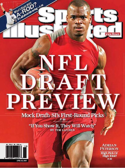 Sports Illustrated Cover - 4/1/2007