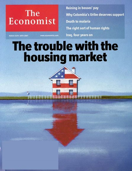 The Economist Cover - 3/1/2007