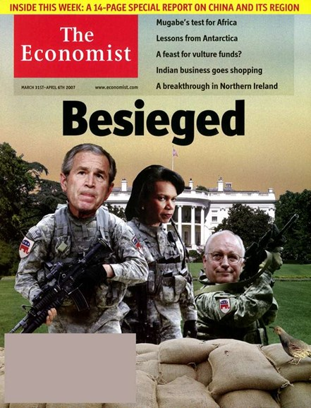 The Economist Cover - 4/1/2007