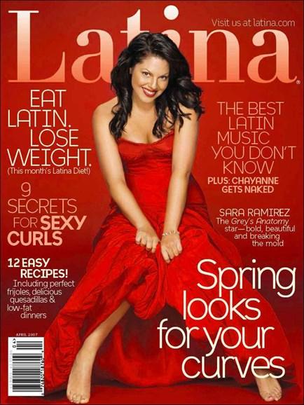 Latina Cover - 4/1/2007