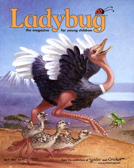 Ladybug Cover - 4/1/2007