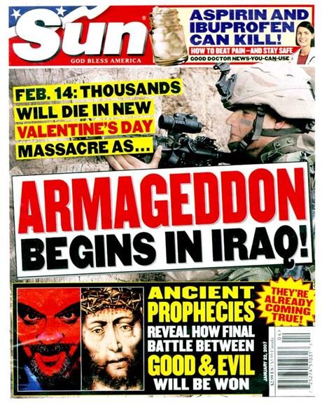 Sun Cover - 1/1/2007