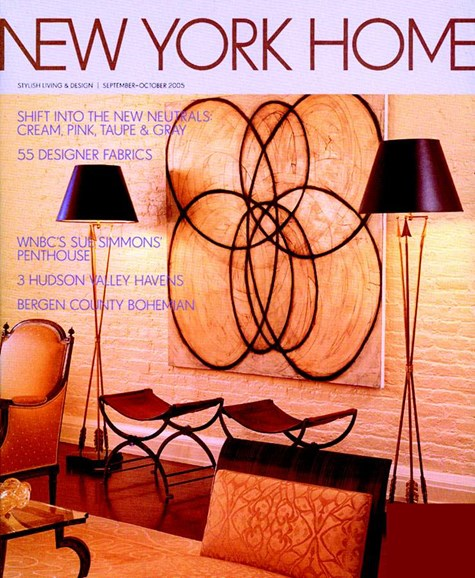 New York Spaces Cover - 9/1/2005