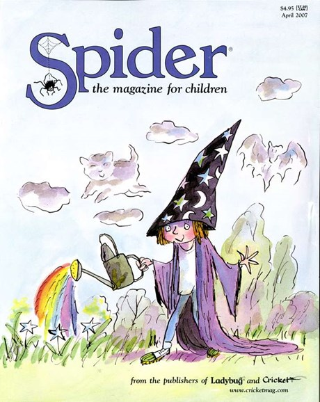 Spider Cover - 4/1/2007
