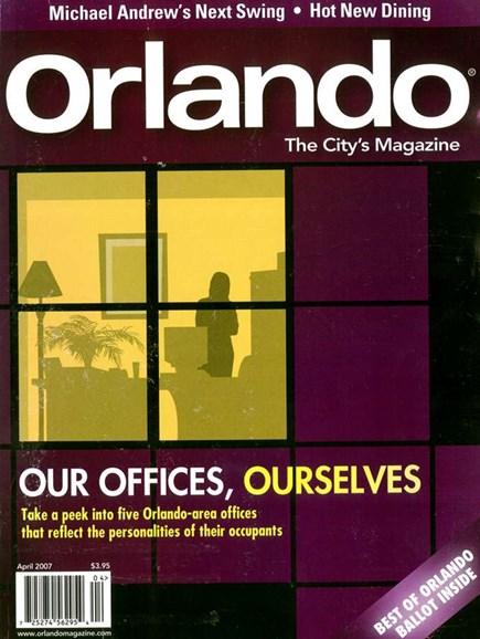 Orlando Magazine Cover - 4/1/2007