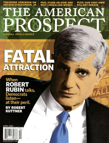 The American Prospect Cover - 4/1/2007