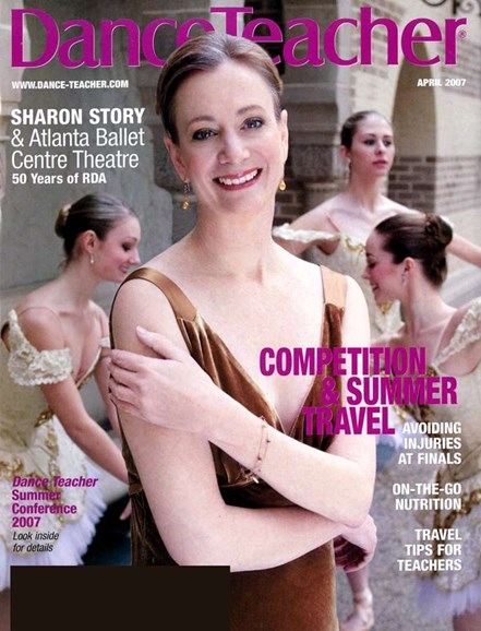 Dance Teacher Cover - 4/1/2007