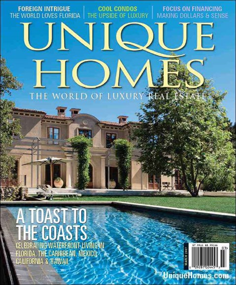 Unique Homes Cover - 5/1/2007