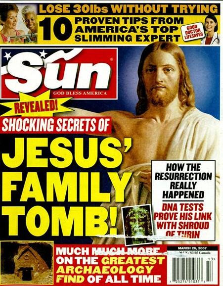 Sun Cover - 3/1/2007