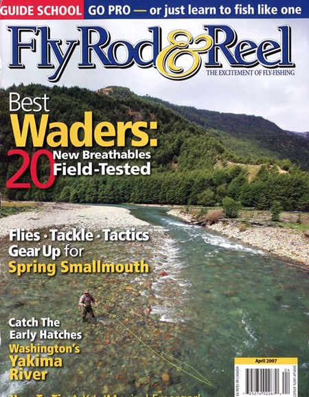 Fly Rod & Reel Magazine Cover - 4/1/2007