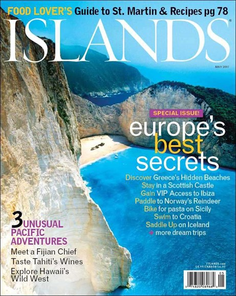 Islands Cover - 4/1/2007