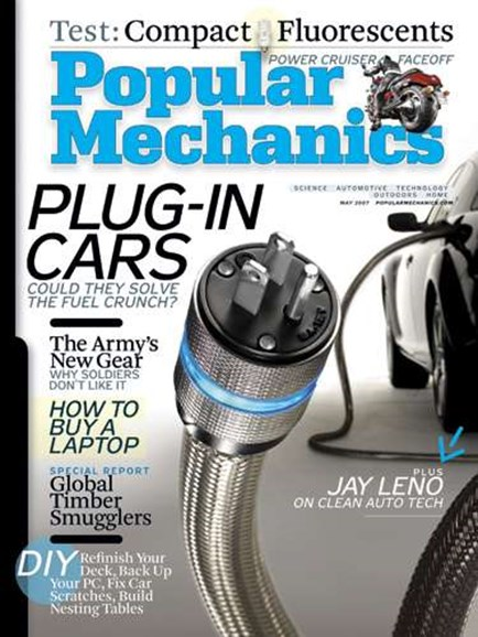 Popular Mechanics Cover - 6/1/2007