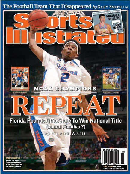 Sports Illustrated Cover - 4/8/2007