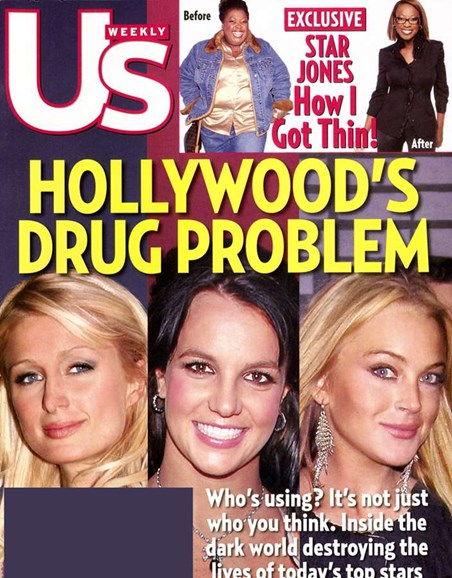 Us Weekly Cover - 3/1/2007
