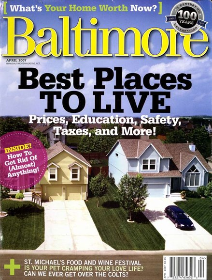 Baltimore Cover - 4/1/2007