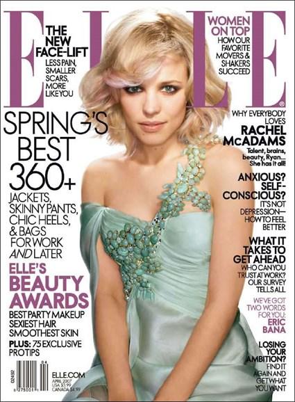 ELLE Cover - 4/1/2007