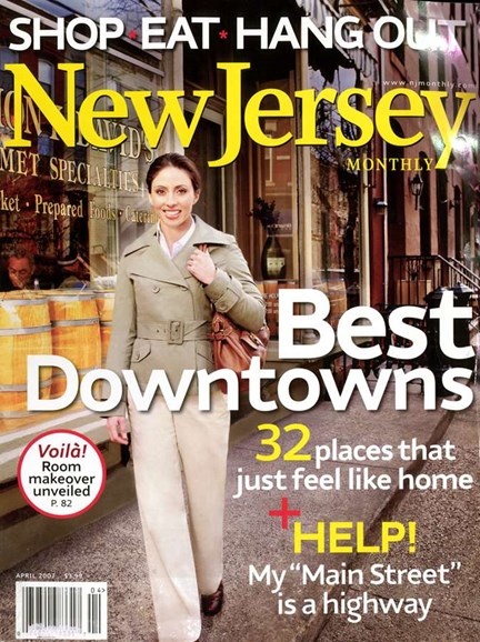 New Jersey Monthly Cover - 4/1/2007